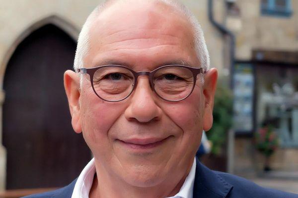André Méllinger, maire de Figeac