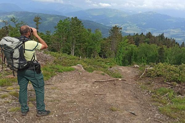 Les contrôles ont été renforcés dans le massif des Voirons, en Haute-Savoie, après le déconfinement.