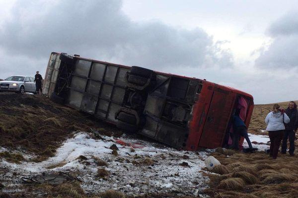 L'accident s'est produit près de la ville de Borgarnes, dans l'ouest du pays.