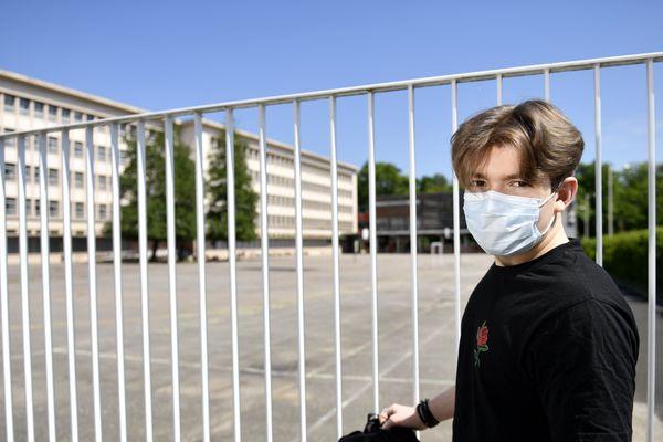 Photo d'illustration/ Retour au collège avec un masque obligatoire