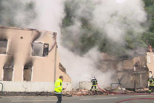 Le 13 juillet 2021, les locaux d'une ancienne ressourcerie étaient partis en fumée à Tulle.