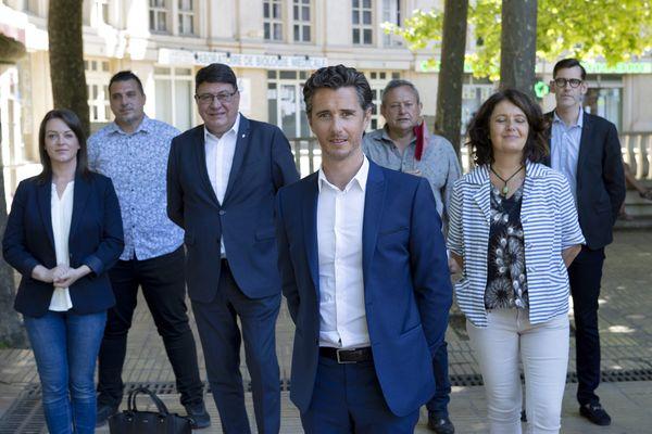 Vincent Terrail-Novès mène la liste Nouvel Elan Occitan (LREM) aux élections régionales. 2021.