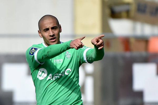 Déjà buteur la semaine précédente à Angers, Wahbi Khazri a ajouté un triplé à son actif face à Bordeaux lors de 32ème journée de championnat de Ligue 1, dimanche 11 avril 2021.