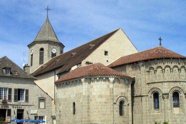 Eglise d'Ahun