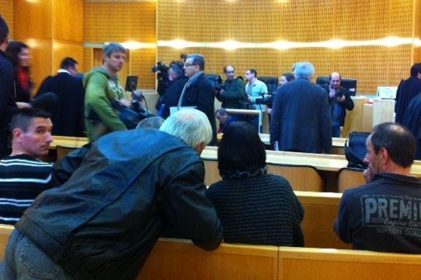 Montpellier - salle d'audience du tribunal correctionnel militaire - 10 avril 2013.