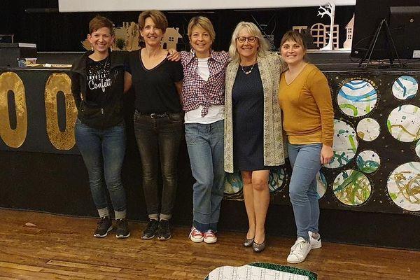 L'équipe organisatrice du congrès.