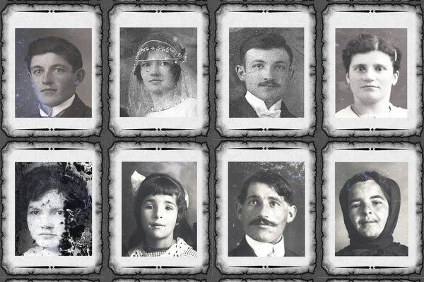 Voici huit des seize portraits retrouvés en août 2020.
