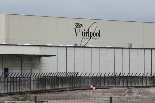 Le site Whirlpool d'Amiens.