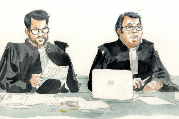 Les avocats de la famille Guillaume.