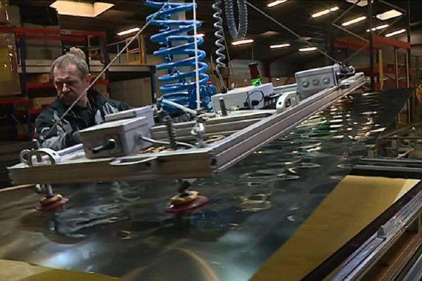 Héliofrance est la seule entreprise en France à fabriquer des panneaux solaires thermiques