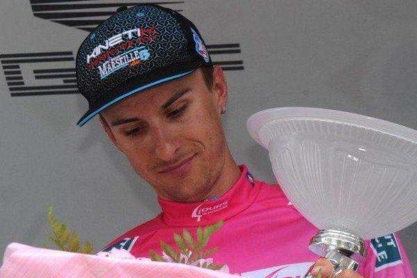 Le Lituanien Ignatas Konovalovas vainqueur final des Quatre jours de Dunkerque après avoir endossé le maillot rose samedi