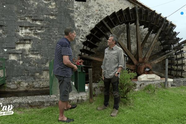 La forge de Peter Stagg, le long de la Flow Vélo