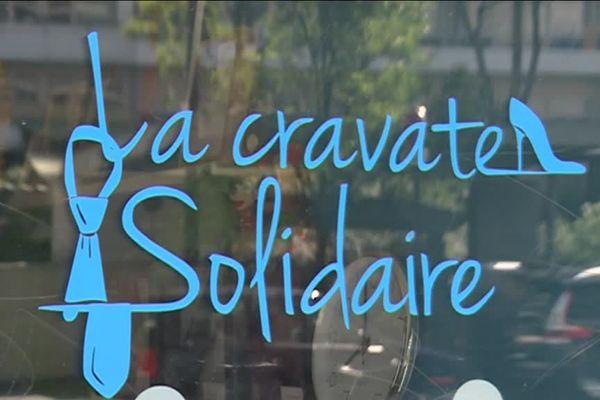 La Cravate Solidaire, dans le 13ème arrondissement de Paris.