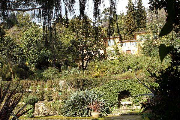 Le jardin Serre de la Madone à Menton.