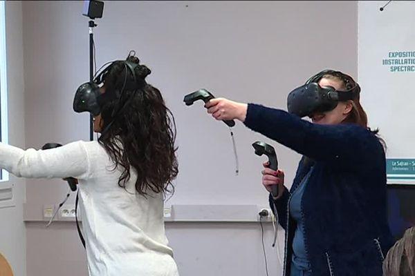 Parmi les activités, la visite virtuelle du quartier Nord d'Amiens