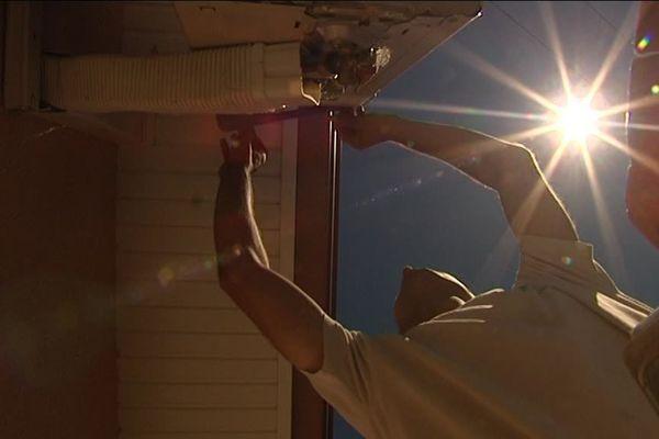 Ludovic Fahier, gérant de Tech Energie, installe de plus en plus de climatiseurs chez les particuliers