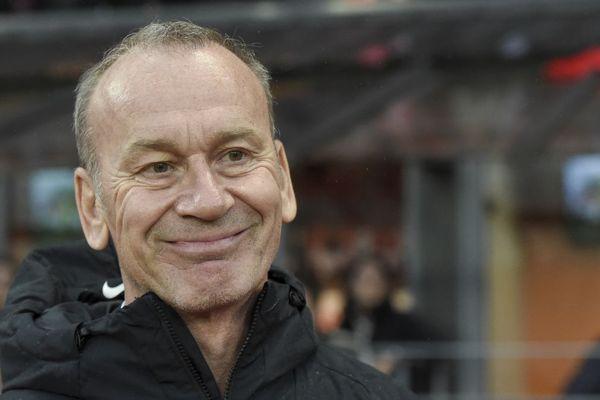 Jean-Marc Furlan, l'entraîneur du Stade Brestois part à Auxerre