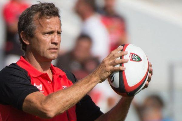 Fabien Galthié, entraîneur de Toulon