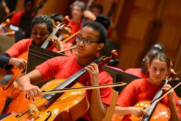 L'Orchestre Demos accompagne 120 enfants depuis 2017, 53% d'entre eux vont entrer au conservatoire.
