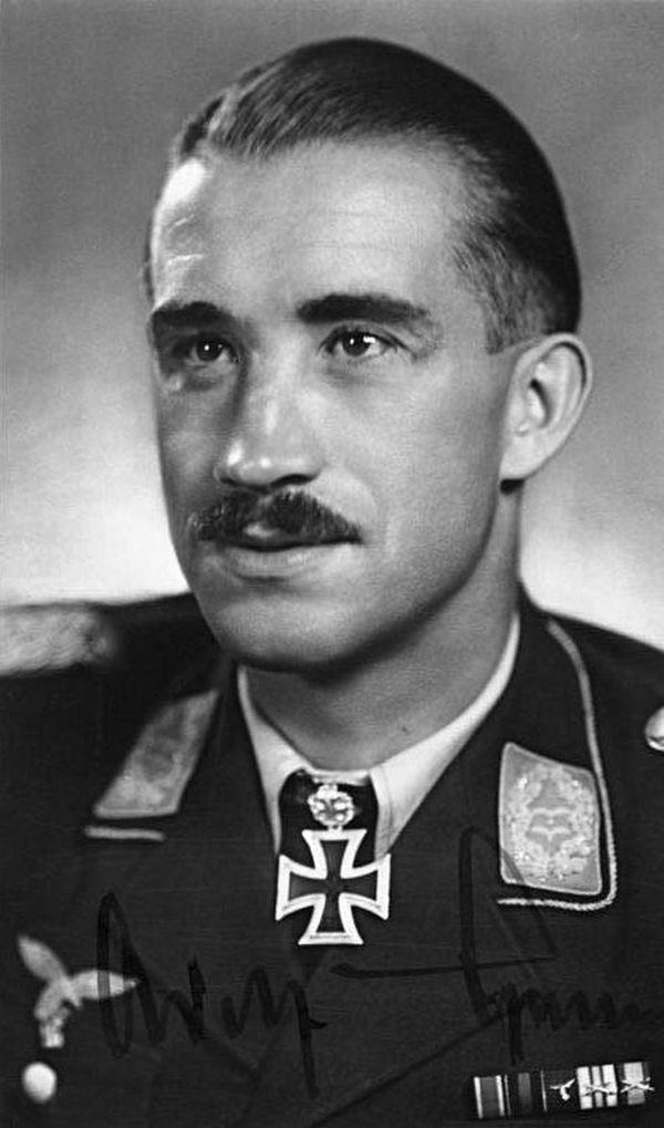 Adolf Galland en 1940-1941.