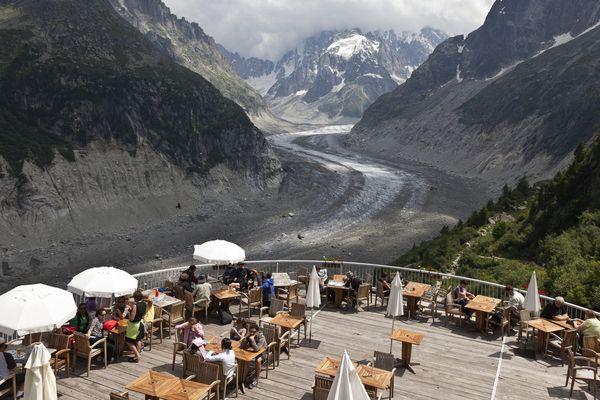 Le site du Montenvers (Haute-Savoie) n'accueillera pas de visiteur mardi 13 août.