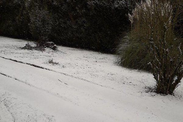 Neige à Cieux le 22.01.2019