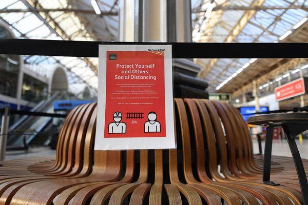La gare Victoria, à Londres, où travaillait l'employée décédée des suites du coronavirus.