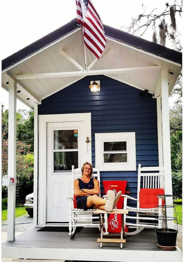 une tiny house à la mode américaine
