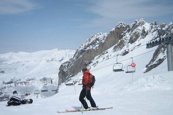 Ski dans les Pyrénées