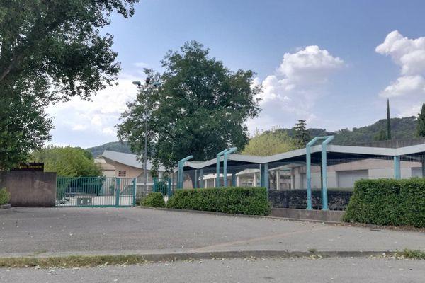 Le collège Chamontin au Teil
