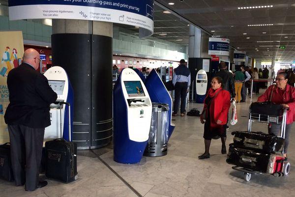 Ambiance très calme à l'aéroport de Toulouse-Blagnac ce lundi 7 mai 2018, au 14ème jour de la grève à Air France.