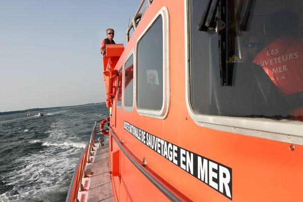 La vedette SNSM du Cap Ferret est intervenue sur le naufrage ce vendredi 20 novembre - image d'illustration -