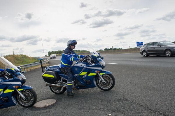 Gendarmes d'un peloton d'autoroute (photo d'illustration)