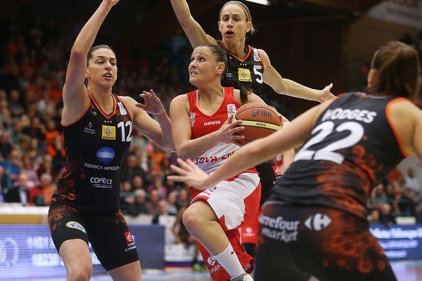 Finale retour de Ligue féminine Bourges/Villeneuve-d'Ascq, le 26 avril 2015.