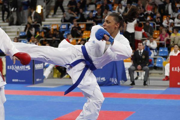 Anne-Laure Florentin s'est imposée en individuel le samedi, en revanche, la compétition par équipe avec le Budokan Orléans a tourné court.