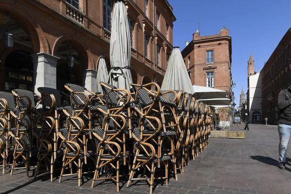 A Toulouse comme dans le reste du pays, les commerces ont fermé après les annonces du gouvernement, le 15 mars.