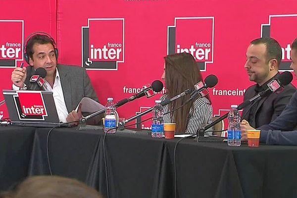 Perpignan - des lycéens invités en direct dans la matinale de France Inter - 20 mars 2017.