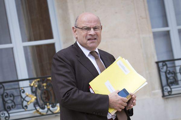 Jean-Marie Le Guen, Secrétaire d'Etat aux Relations avec le Parlement, en mai dernier