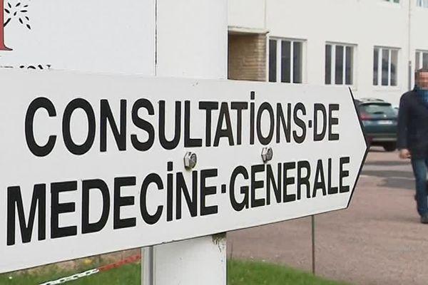 L'unité de médecine générale de l'hôpital de Château-Chinon dans la Nièvre