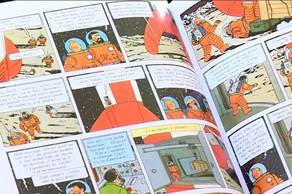 Tintin édité en patois sarthois