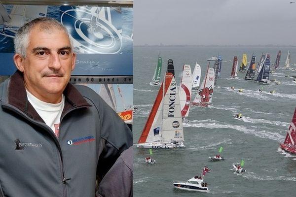Richard Silvani suit son 6eme Vendée Globe