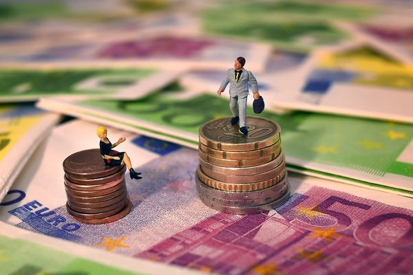 Les inégalités salariales (image d'illustration).