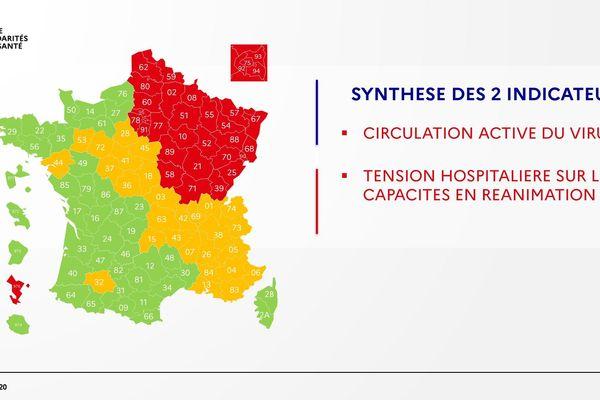 La Dordogne repasse en vert sur la carte du déconfinement ce vendredi 1er mai.