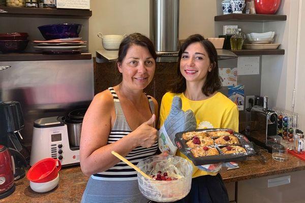 Isabelle et sa fille Elisa confectionne 10 repas #Poureux à Nancy