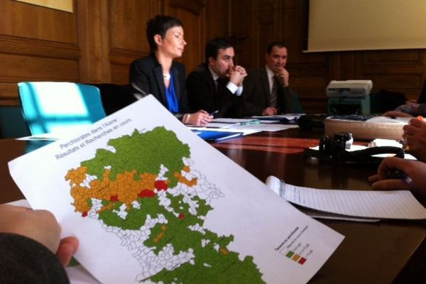 Préfecture de l'Aisne : point presse sur les résultats traces de perchlorates dans l'eau