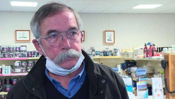 Sylvain Scherer, maire de Frossay en Loire-Atlantique