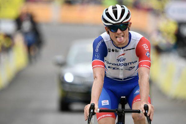 David Gaudu s'est détaché dans le dernier kilomètre de cette 5e étape du Tour du Luxembourg