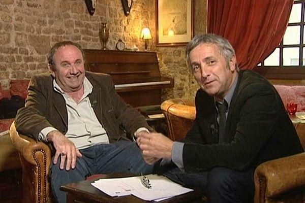 Pascal Vannier, à gauche et Jan-Lou Janeir, à droite