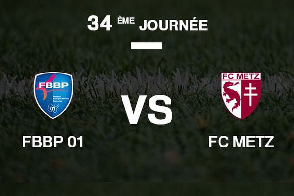 Bourg-en-Bresse reçoit le FC Metz.