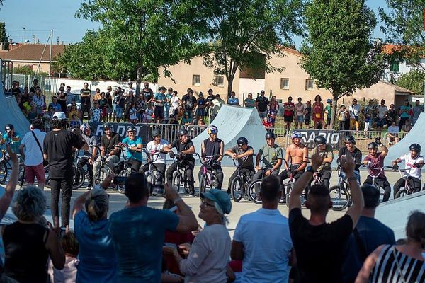 Le festival de BMX de Sérignan (BMX Occitanie Show) prévu le week-end prochain est annulé. ARCHIVES 2019
